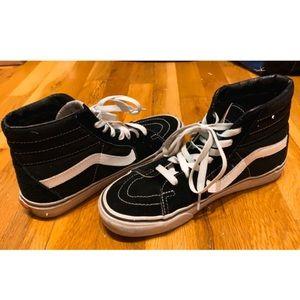 Vans skateboard high top shoe